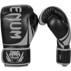 Перчатки боксерские Venum Challenger 2.0 Neo Black/Grey, 16 oz Venum