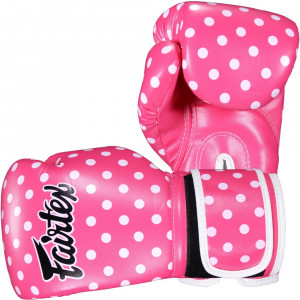 Боксерские перчатки Fairtex POLKA, 10 OZ Fairtex