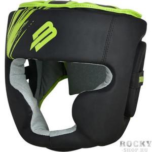 Шлем для бокса BoyBo Stain Full Face BH400 Green/Black Boybo