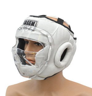Шлем для бокса safe, Белый Green Hill