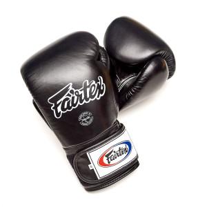 Перчатки тренировочные на липучке Fairtex, 14oz Fairtex