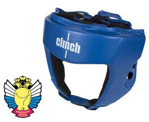 Шлем боксерский Clinch Olimp, синий Clinch Gear
